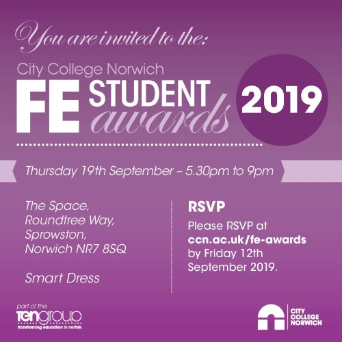FE Awards Guest Invite July 2019