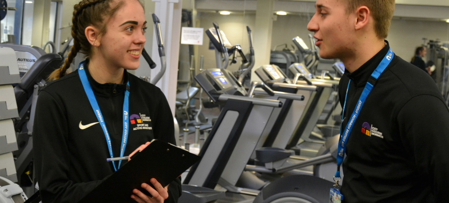 Paige-Sterry-and-Ben-Brighton-are-among-the-City-College-Norwich-sports-students-who-can-now-add-UKAD-Accredited-Adviser-to-their-CVs