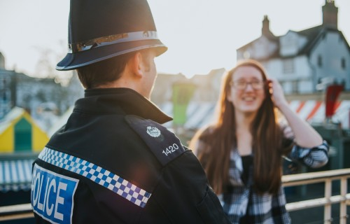 Two new City College Norwich courses aim to open careers in policing to more people PIC CREDIT Norfolk Constabulary 2