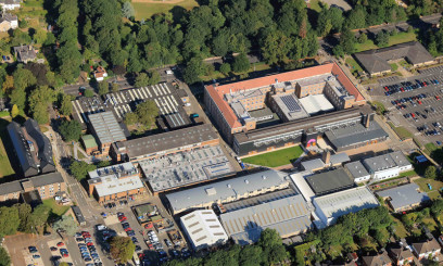 city college norwich campus aerial view