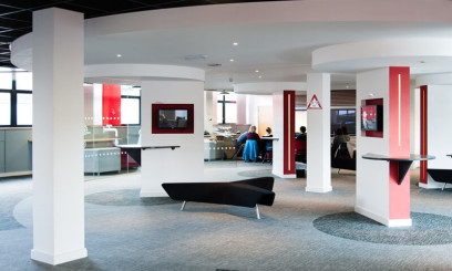 the startup lounge at city college norwich